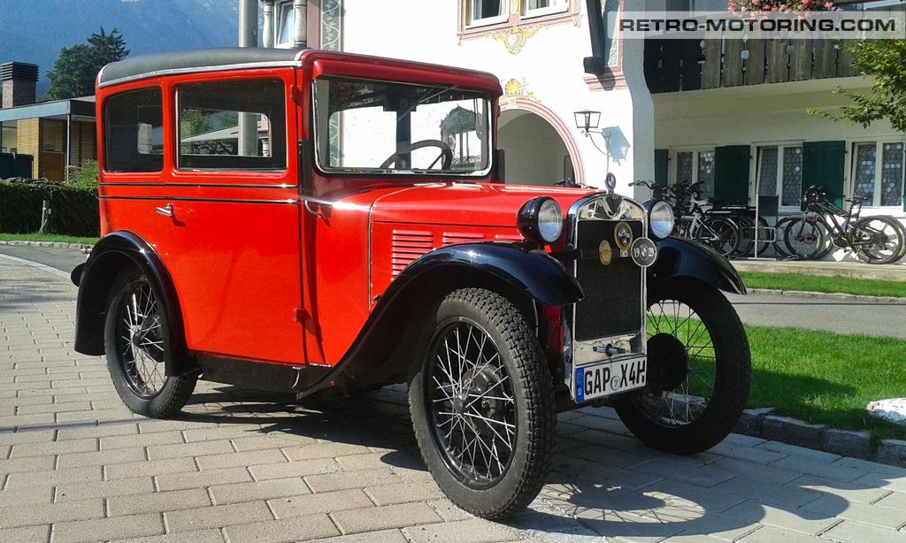 red 1929 bmw dixi bmw retro motoring. Black Bedroom Furniture Sets. Home Design Ideas