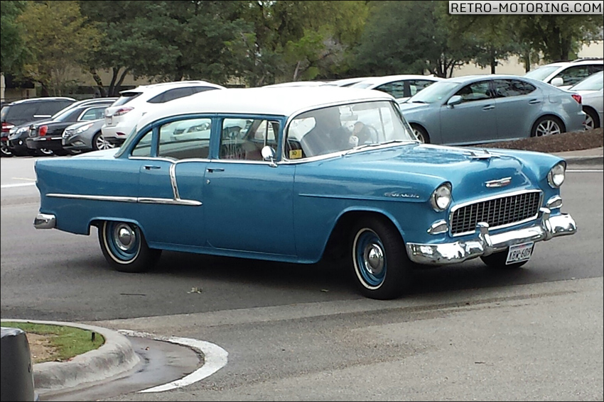 1955 Chevrolet 4Door Sedan Chevrolet 1955 : RetroMotoring