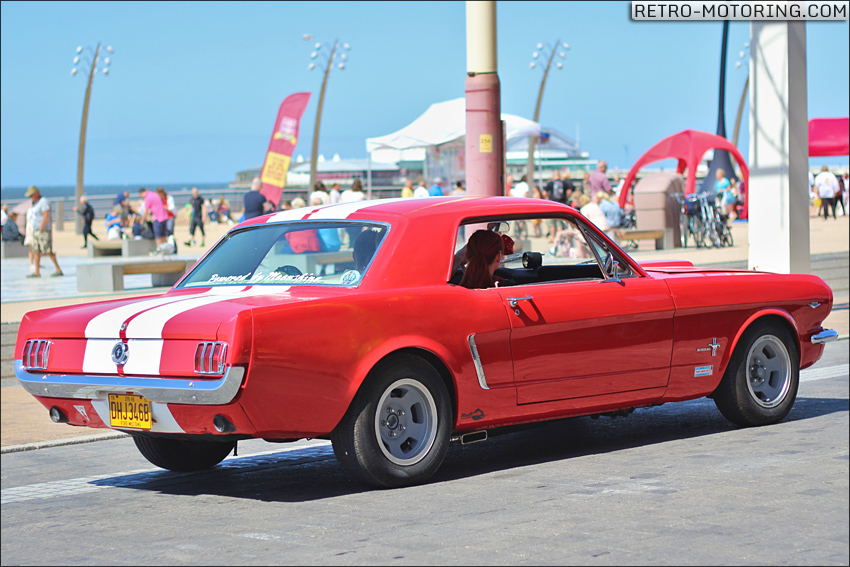 Red 1964 Ford Mustang
