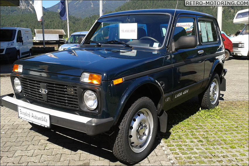 lada niva 4x4 on new 63 plate retro rides. Black Bedroom Furniture Sets. Home Design Ideas