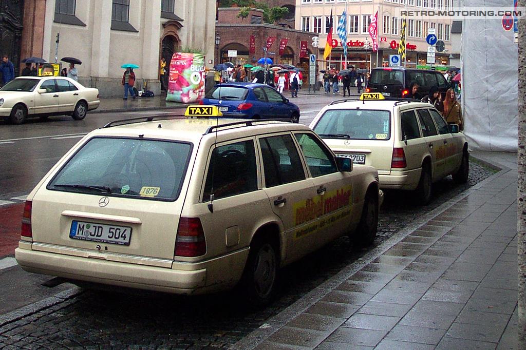 mercedes benz w124t taxis in munich mercedes benz w124. Black Bedroom Furniture Sets. Home Design Ideas