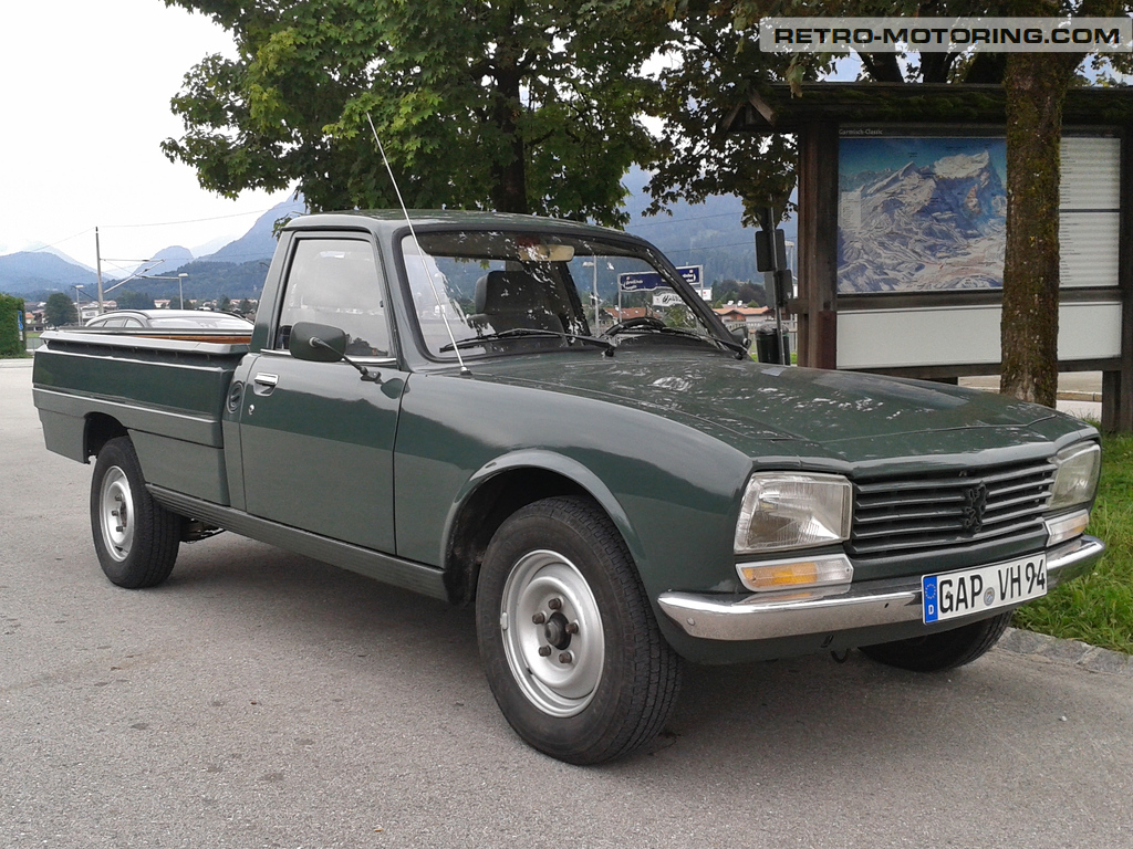 Pickup For Sale Peugeot 504 605 Injection And Ignition Wiring Diagram Images Toyota Manual