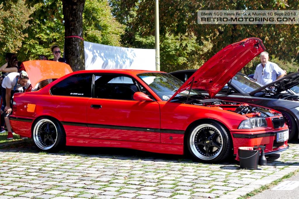 Red Bmw E36 M3 Coupe Bmw Festival Munich 2016 Retro Motoring