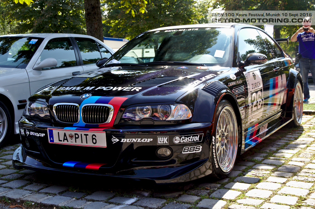 Bmw E46 M3 Race Car Bmw Festival Munich 2016 Retro Motoring