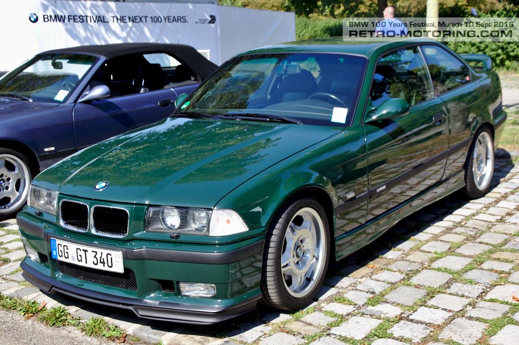 Green Bmw E36 M3 Gt Coupe Bmw Festival Munich 2016 Retro Motoring