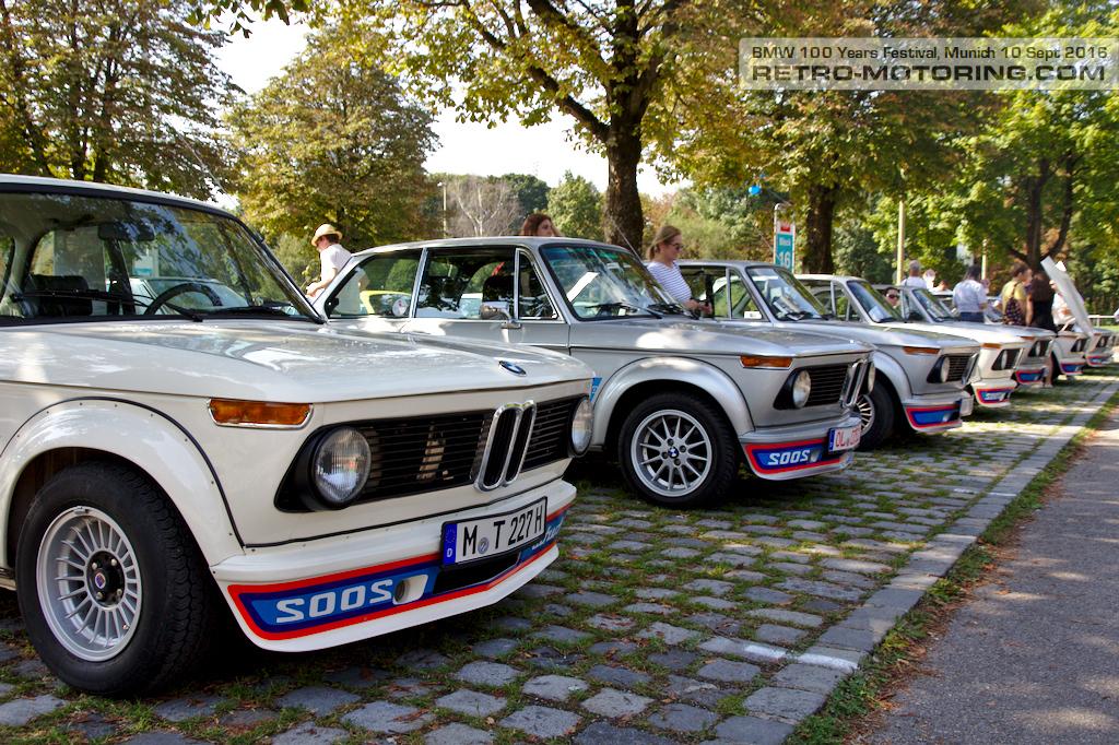 Bmw 2002 Turbo Line Up Bmw Festival Munich 2016 Retro Motoring