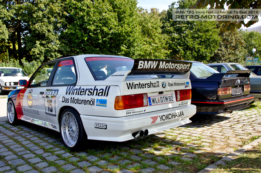 Bmw Motorsport E30 M3 Bmw Festival Munich 2016 Retro Motoring