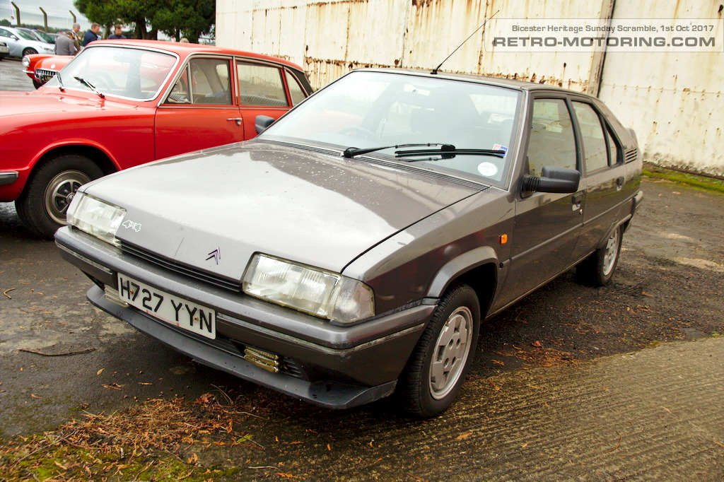 citroen bx gti 4x4 h727yyn bicester heritage sunday scramble october 2017 retro motoring. Black Bedroom Furniture Sets. Home Design Ideas