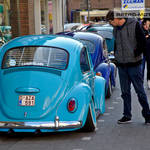 Lowered VW Beetle in Ninove