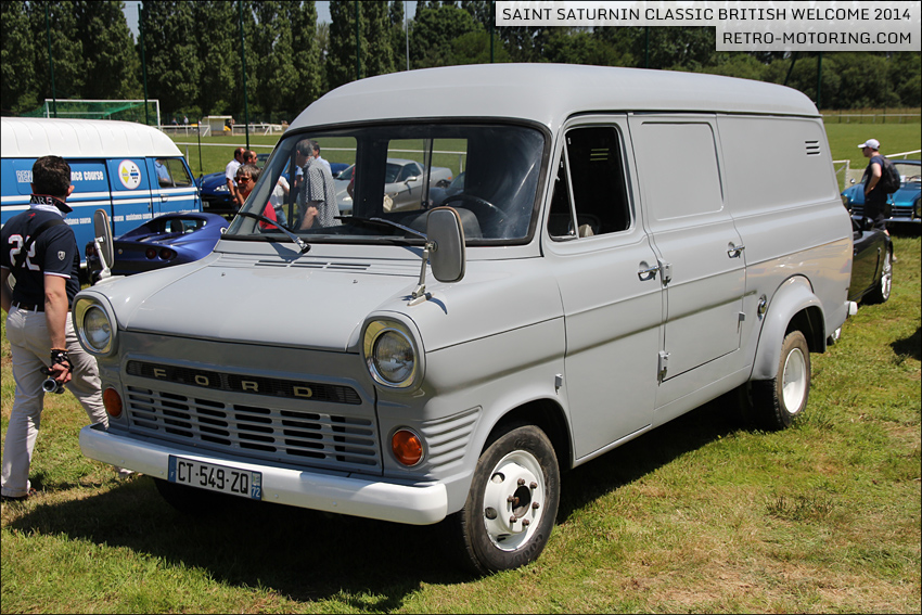 grey ford transit mk1 van st saturnin classic british welcome 2014 retro motoring. Black Bedroom Furniture Sets. Home Design Ideas