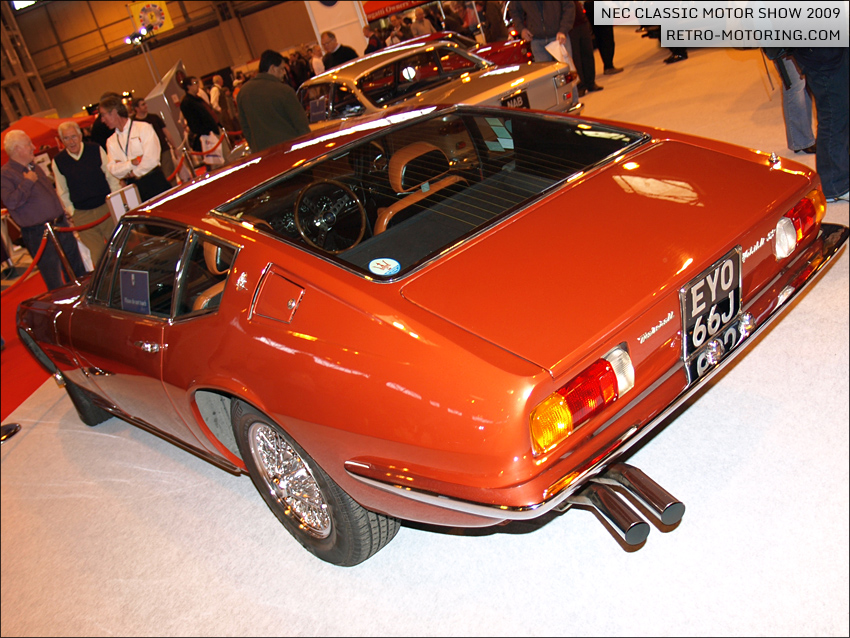 Maserati Ghibli EYO66J at the NEC Classic Motor Show 2009