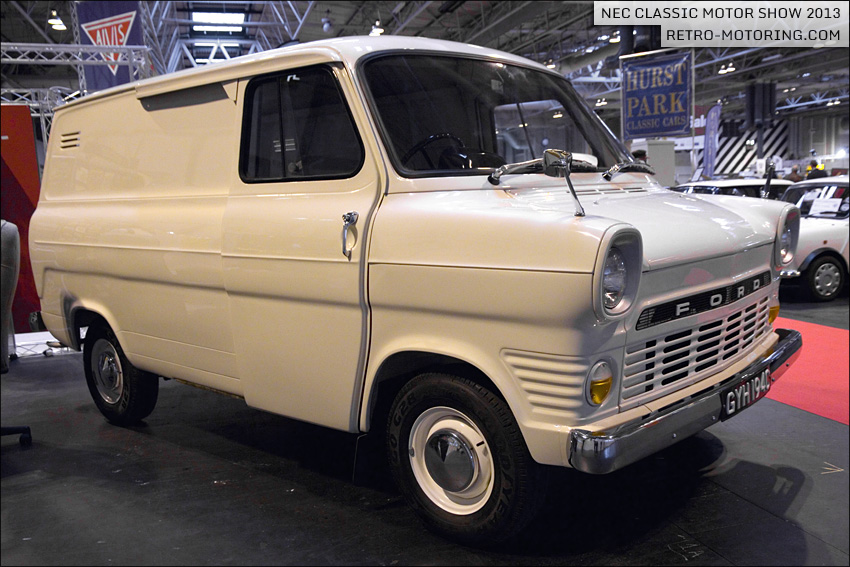 White Ford Transit Mk1 Van Gyh194d Nec Classic Motor Show