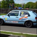 Car 9 - Tim Hartland - Blue VW Golf Mk2 GTI 16v