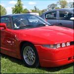 Red Alfa Romeo SZ ES30