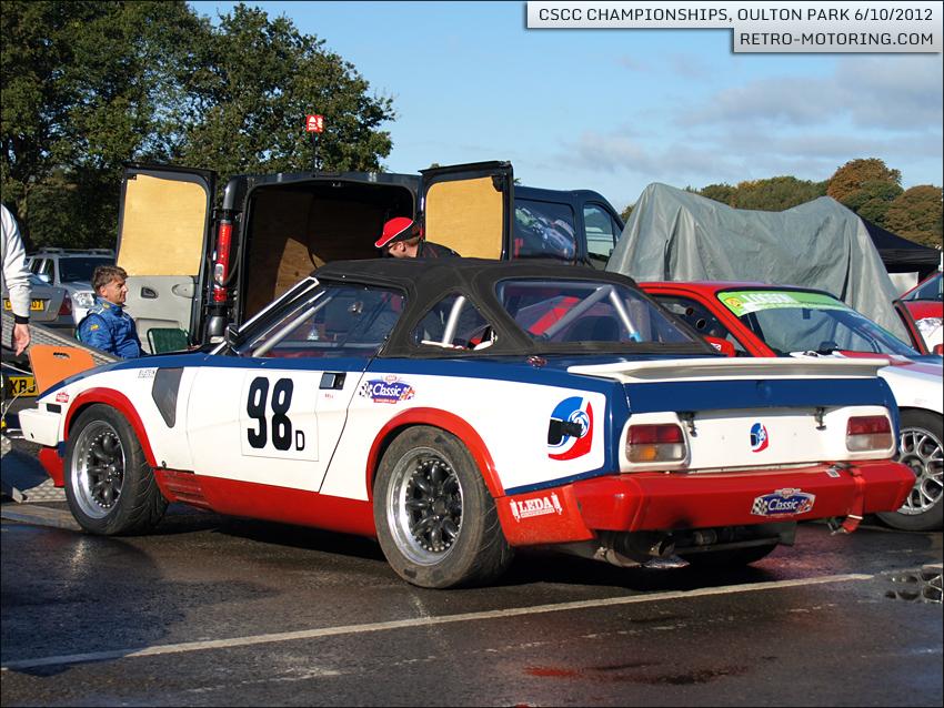 1981 Triumph TR7 V8 Drophead - Car 98 Alan Price CSCC ...