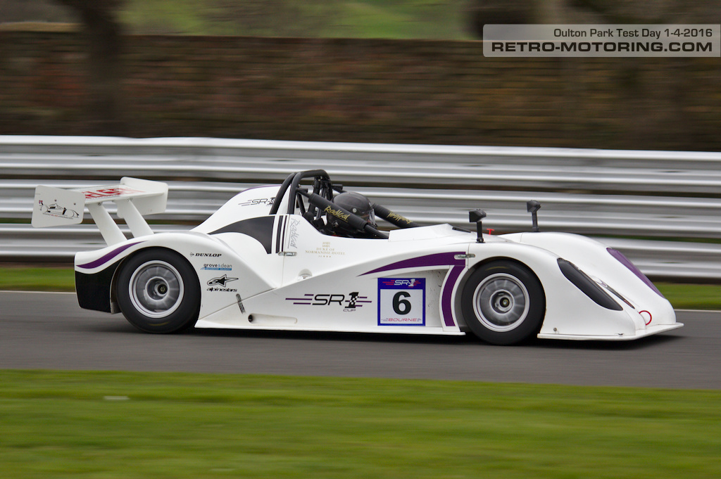 Radical SR1 IMG_3592 Test Day, Oulton Park 1/4/2016 : Retro