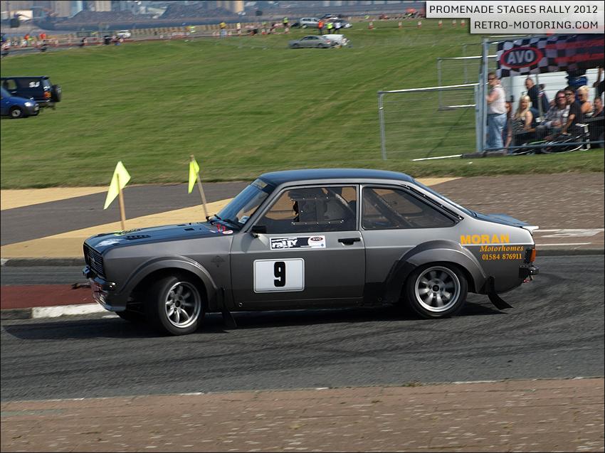 Escort rally replica