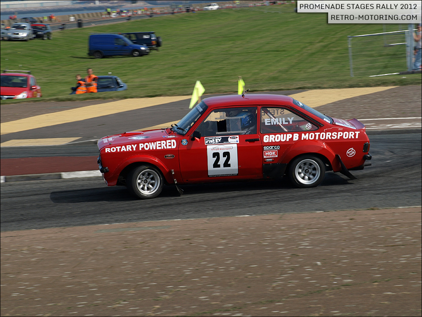 Ford Escort Mk2 Rally Car