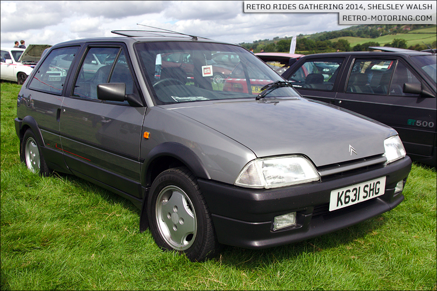 citroen ax gti k631shg retro rides gathering 2014 retro motoring. Black Bedroom Furniture Sets. Home Design Ideas