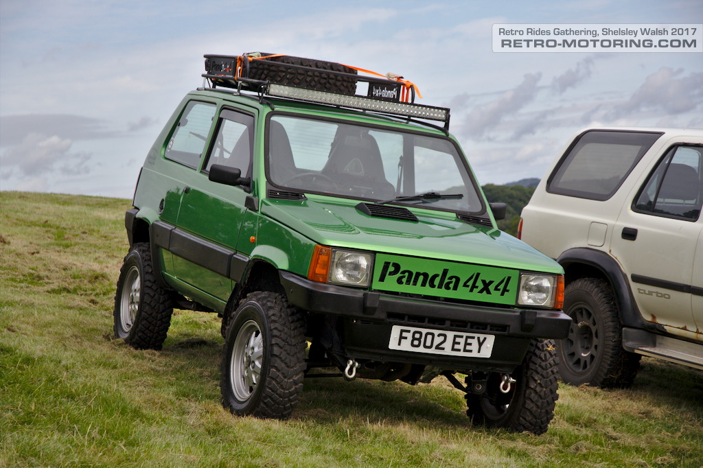 Fiat panda 4x4 f802eey retro rides gathering 2017 retro for Panda 4x4 extreme