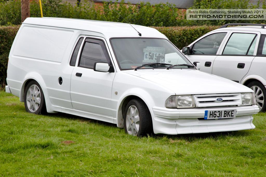 mk3 escort van