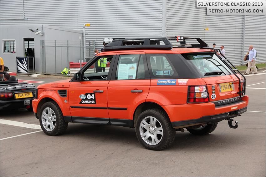 Orange Range Rover Sport G4 Challenge At The Silverstone