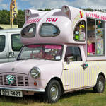 Classic Mini Pink Ice Cream Van