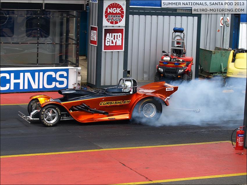 Martin Curbishley - Brogie Roadster V4 1 468ci - Super Comp
