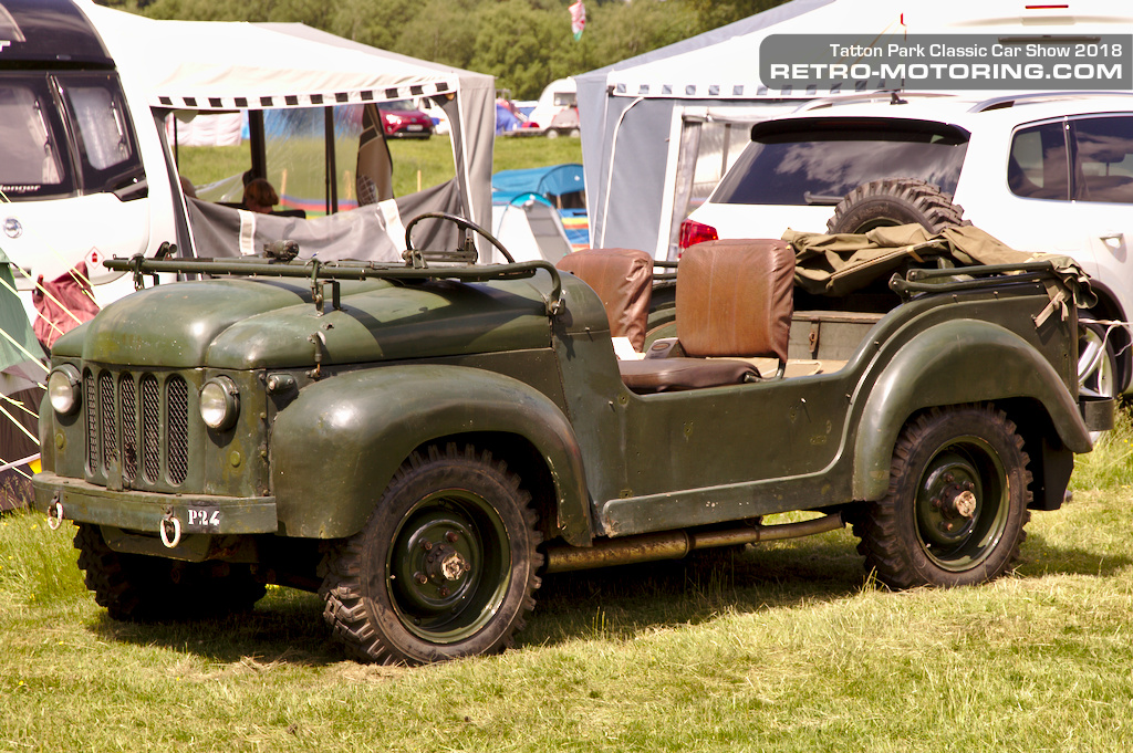 Wolseley Mudlark 4x4 at Tatton Park Classic Car Show