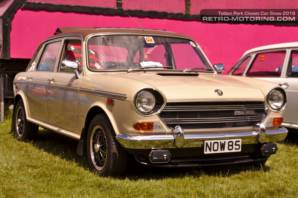 Austin 1800S at Tatton Park Classic Car Show