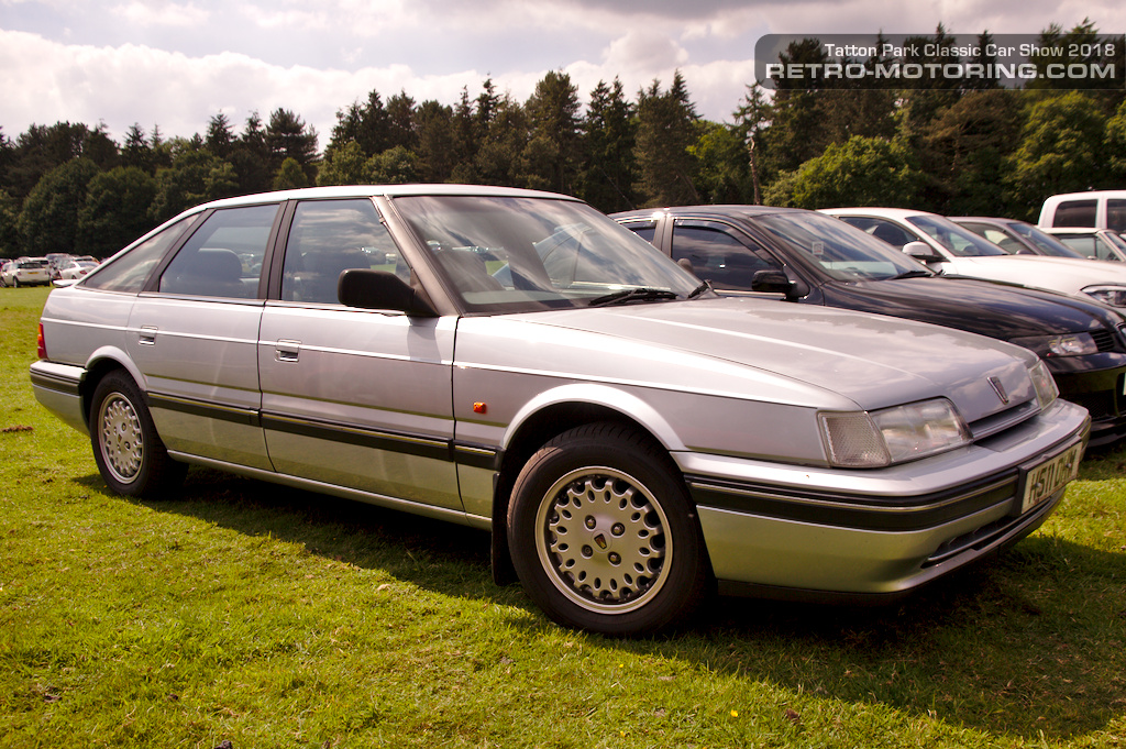 Rover 800 Fastback at Tatton Park Classic Car Show