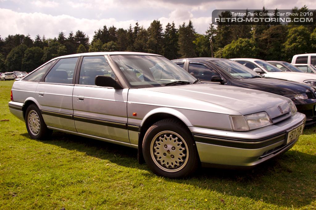 Rover 800 Fastback at Tatton Park Classic Car Show