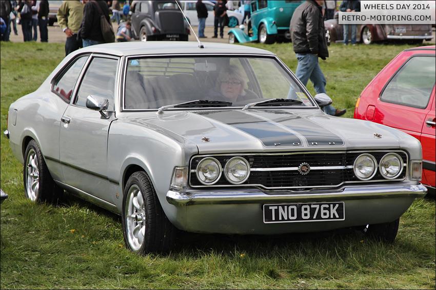 Ford Cortina Mk3 TNO876K Surrey Street Rodders Wheels Day ...