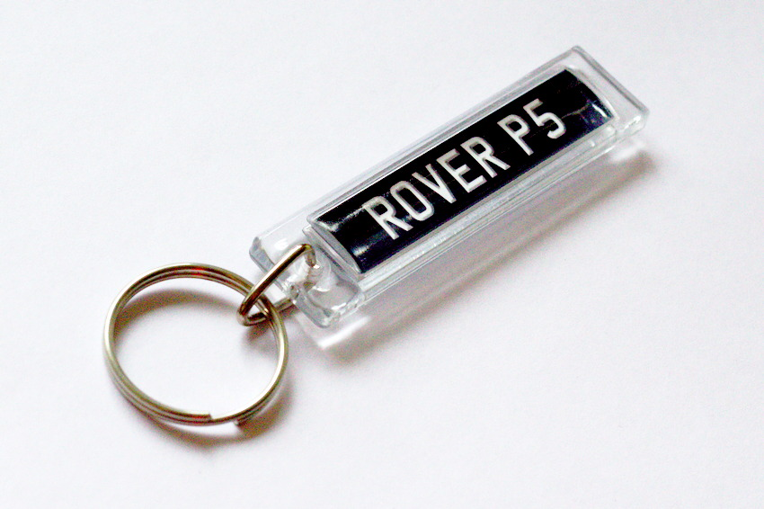 Rover P5 Keyring for sale at Retro-Motoring