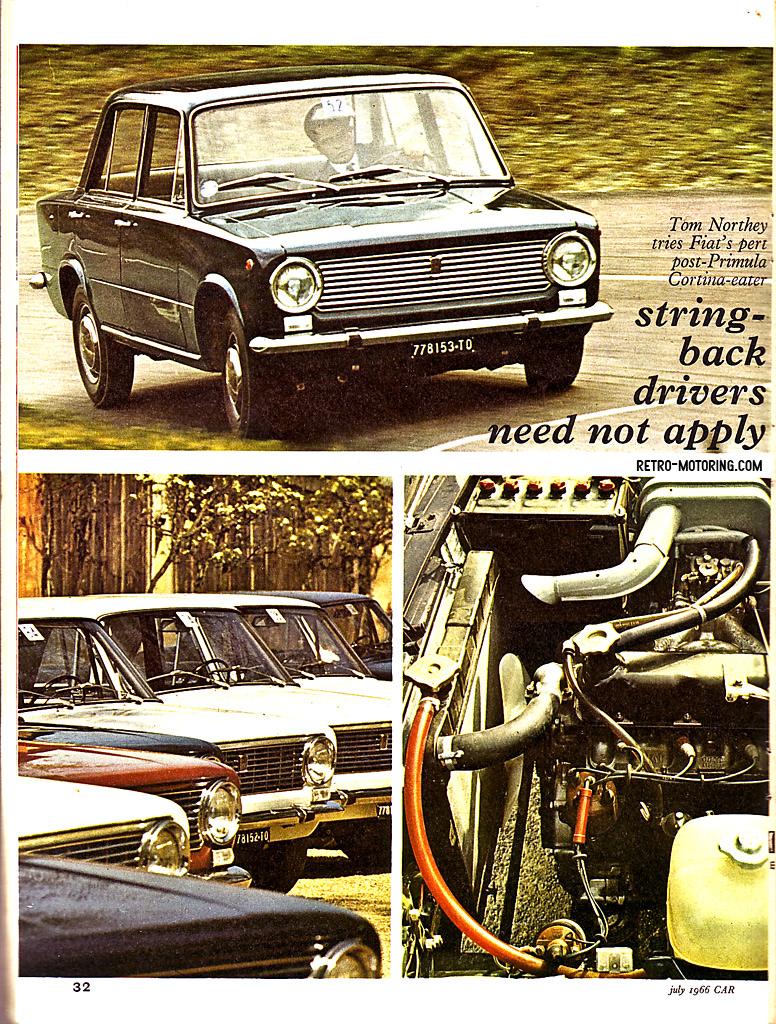 Fiat 124 road test