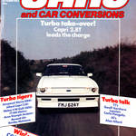 CCC Magazine Ford Capri Tickford Cover