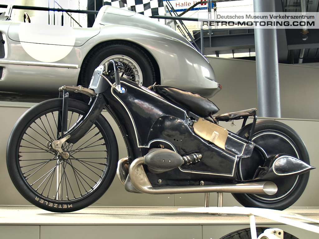 1935 Bmw Weltrekordmotorrad 750 Ccm Retro Motoring